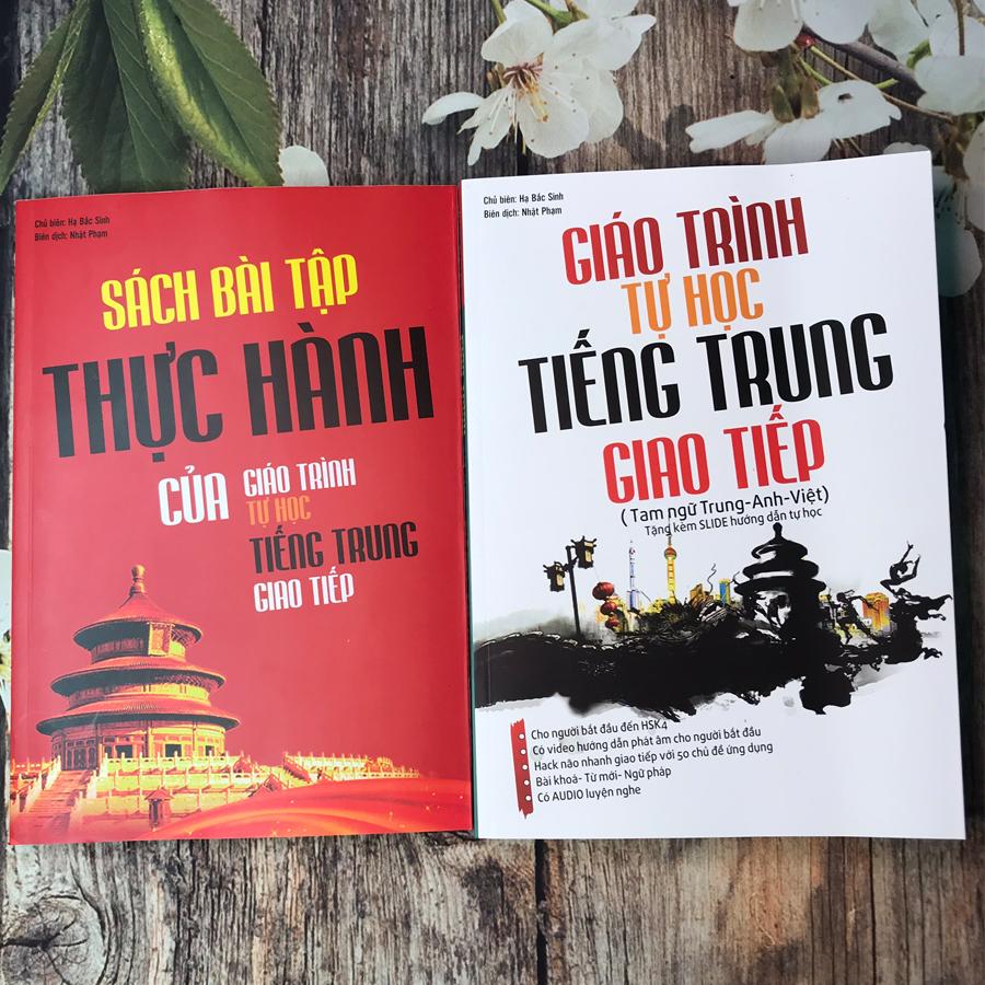 Combo 2 sách: Giáo trình tự học tiếng Trung giao tiếp (Tam ngữ Anh - Trung - Việt) và Sách bài tập thực hành - 1814339 , 6750484859789 , 62_13324262 , 500000 , Combo-2-sach-Giao-trinh-tu-hoc-tieng-Trung-giao-tiep-Tam-ngu-Anh-Trung-Viet-va-Sach-bai-tap-thuc-hanh-62_13324262 , tiki.vn , Combo 2 sách: Giáo trình tự học tiếng Trung giao tiếp (Tam ngữ Anh - Trung