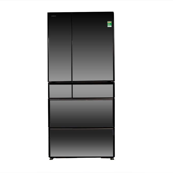 Tủ lạnh Hitachi Inverter 525 lít R-X670GV (X) - Hàng chính hãng