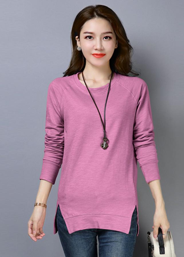 Áo thun nữ phôm dài thời trang thiết kế vạt áo xẻ dài độc đáo 102 - 9909364 , 7375452346017 , 62_19776370 , 408000 , Ao-thun-nu-phom-dai-thoi-trang-thiet-ke-vat-ao-xe-dai-doc-dao-102-62_19776370 , tiki.vn , Áo thun nữ phôm dài thời trang thiết kế vạt áo xẻ dài độc đáo 102
