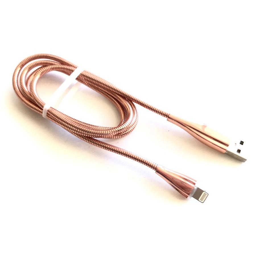 Cáp Bọc Thép Hoco J15 - Lightning Iphone Chính Hãng (PVN126,PVN127,PVN128)