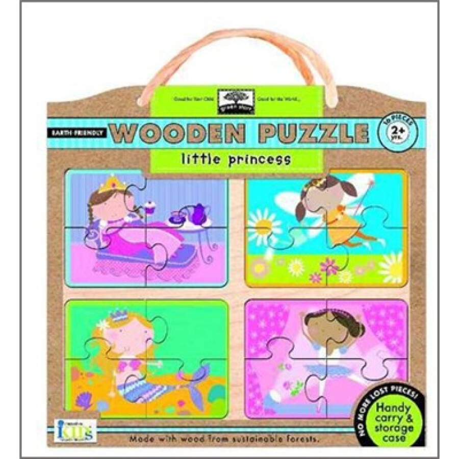 Little Princess - Earth Friendly Puzzles with Handy Carry  Storage Case - 1239135 , 9760423459373 , 62_5276981 , 1276000 , Little-Princess-Earth-Friendly-Puzzles-with-Handy-Carry-Storage-Case-62_5276981 , tiki.vn , Little Princess - Earth Friendly Puzzles with Handy Carry  Storage Case
