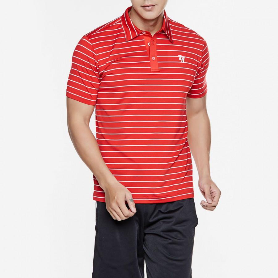 Áo Thể Thao Nam Tennis Polo Red/Wht