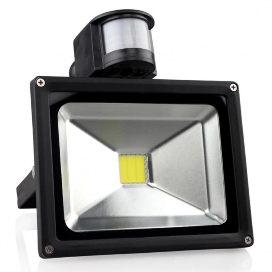 Đèn pha cảm ứng 10W tiện dụng