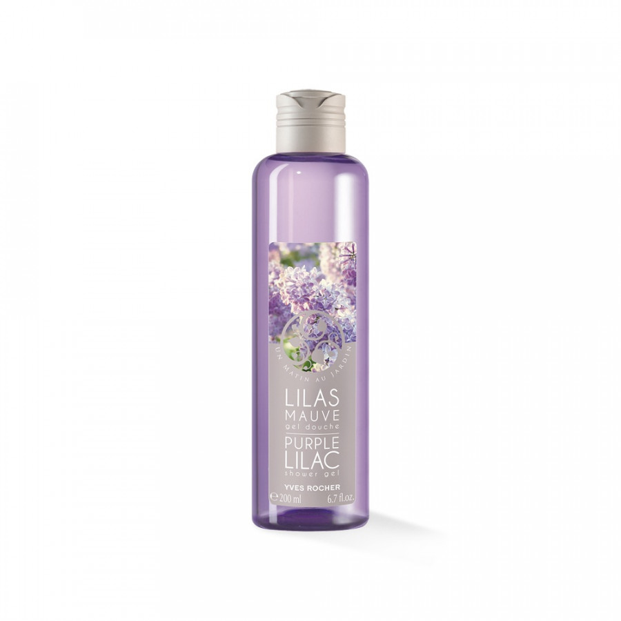 Gel Tắm Yves Rocher Purple Lilac Shower Gel 200ml