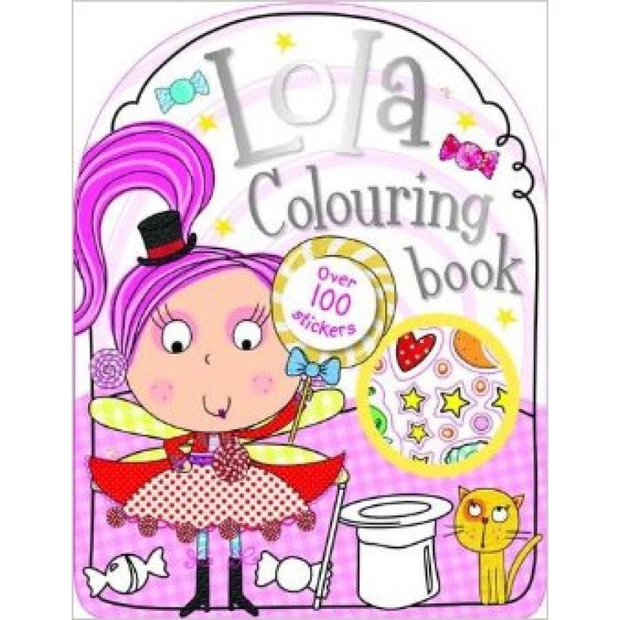 Lola The Lollipop Fairy Sticker And Colouring Book Bumper