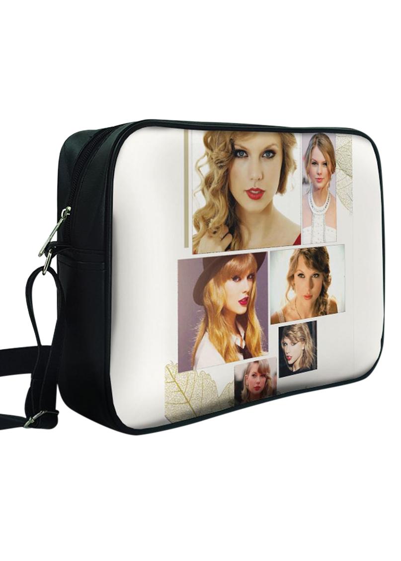 Túi Đeo Chéo Hộp Unisex In Hình Taylor Swift Nature Beauty - TCUP007