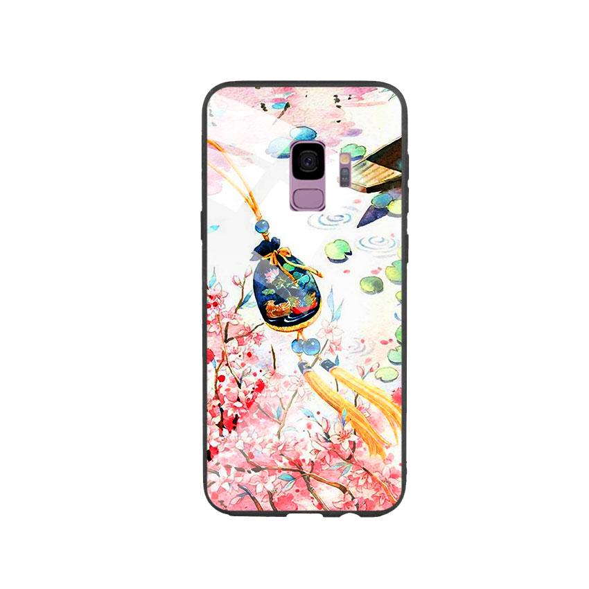 Ốp Lưng Kính Cường Lực cho điện thoại Samsung Galaxy S9 - DHCL Mẫu 3
