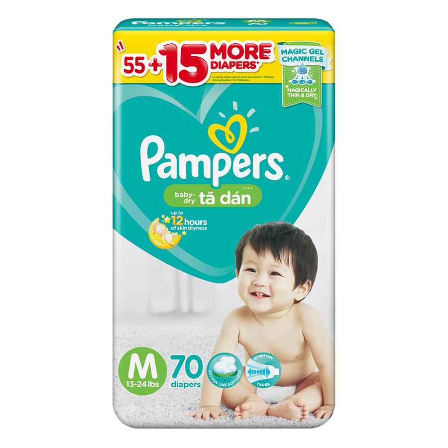 Tã Dán Pampers Philippines Gói Cực Đại M70 (70 Miếng) - 7047184 , 3079541977932 , 62_13593809 , 325000 , Ta-Dan-Pampers-Philippines-Goi-Cuc-Dai-M70-70-Mieng-62_13593809 , tiki.vn , Tã Dán Pampers Philippines Gói Cực Đại M70 (70 Miếng)