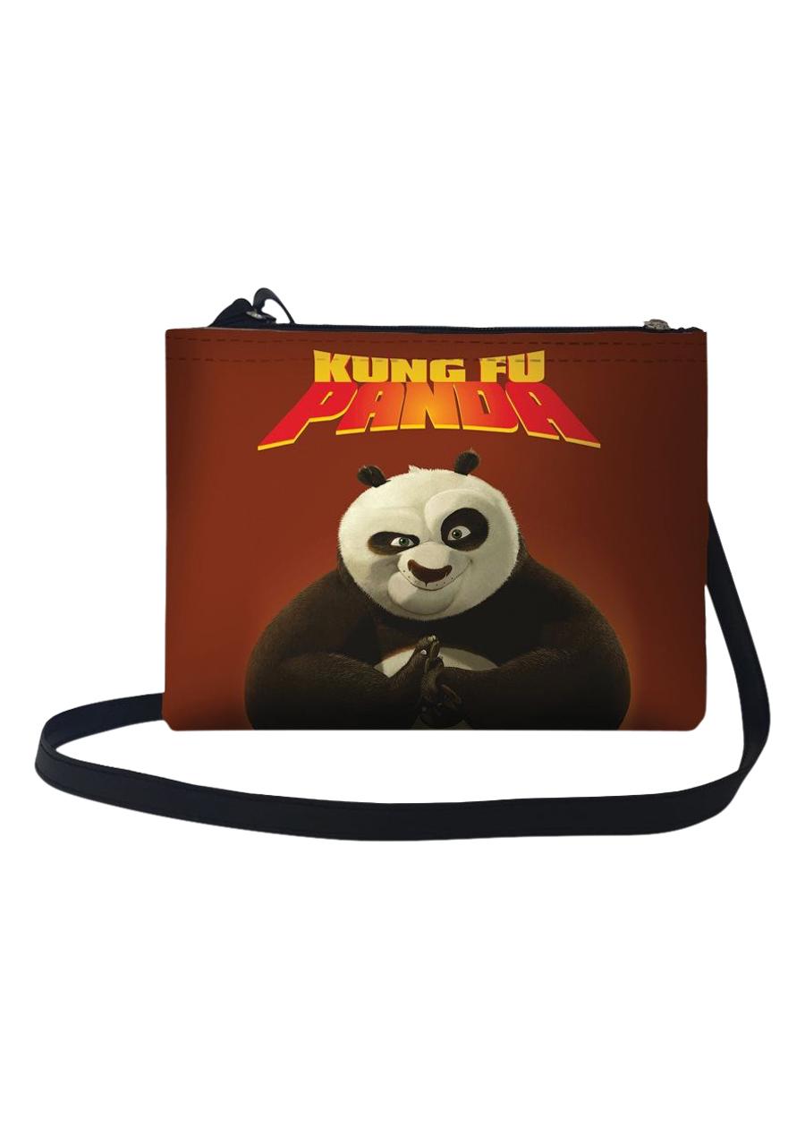 Túi Đeo Chéo Nữ In Hình Kungfu Panda TUFF040