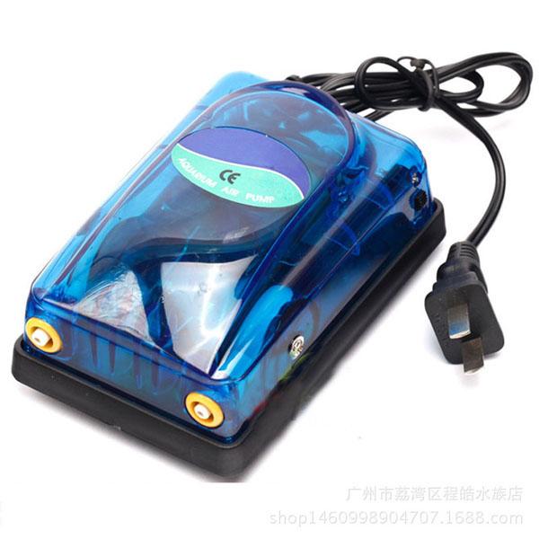 Máy sủi oxy mini 2 vòi Electrical RS-348A (3.5W - 5L/PHÚT) siêu bền, tiết kiệm điện - DJ003