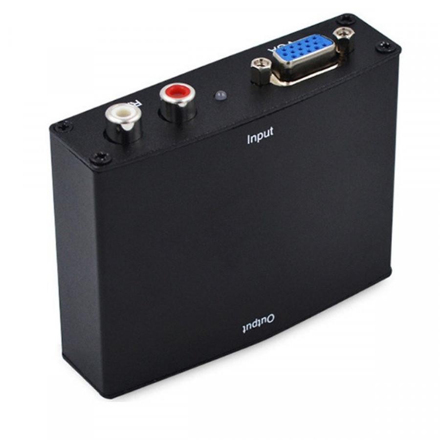 Bộ chuyển VGA to HDMI (Có Adapter) -Hàng chính hãng.