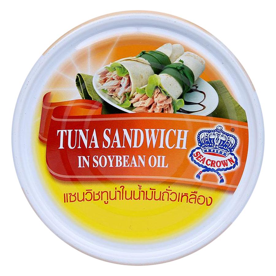 Cá Ngừ Lát Ngâm Dầu Seacrown - Hộp 140g