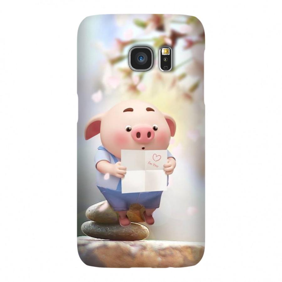 Ốp Lưng Cho Điện Thoại Samsung Galaxy S7 - Mẫu heocon 101