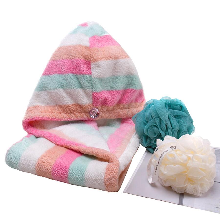Fangcai Korean flower bud bath flower bath ball bathroom supplies bath ball buy 3 get 1 free