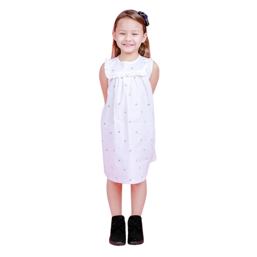 Đầm Suông Bé Gái In Xe Đạp Ugether UKID86 - Họa Tiết