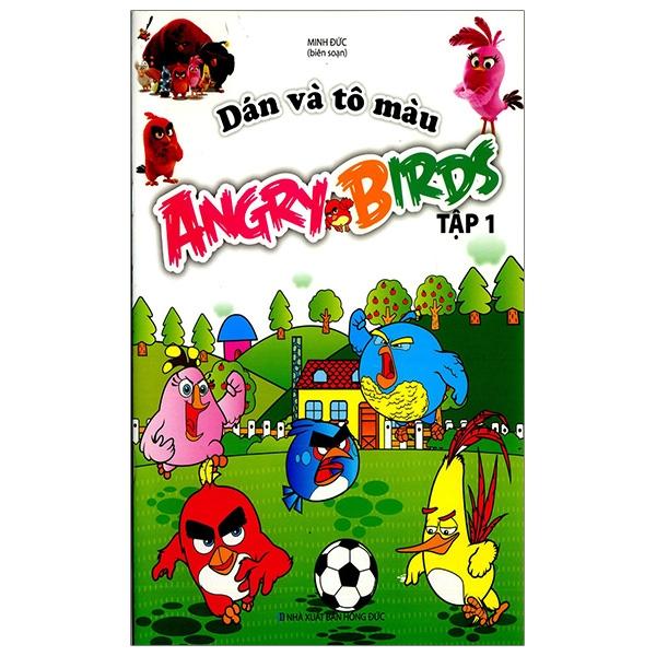 Dán Và Tô Màu Angrybirds - Tập 1