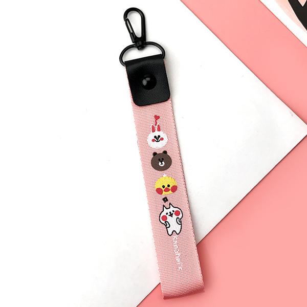 Móc khóa dây Strap dây vải hình gấu thỏ - hồng - 759696 , 6288261937516 , 62_12019518 , 35000 , Moc-khoa-day-Strap-day-vai-hinh-gau-tho-hong-62_12019518 , tiki.vn , Móc khóa dây Strap dây vải hình gấu thỏ - hồng