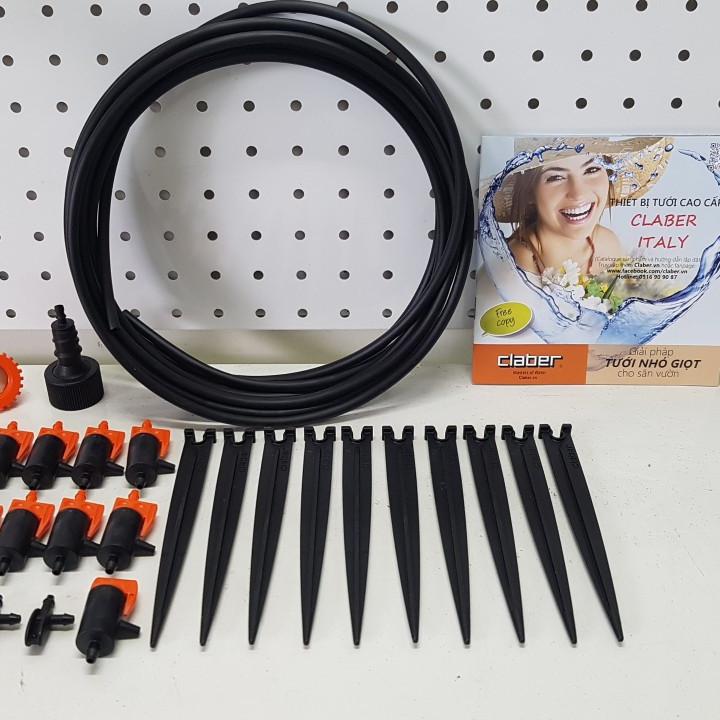 Bộ tưới nhỏ giọt cơ bản Drip Kit 10 Claber