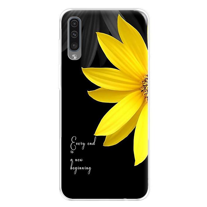 Ốp lưng dẻo cho điện thoại Samsung Galaxy A50 - 224 0037 DAISY01