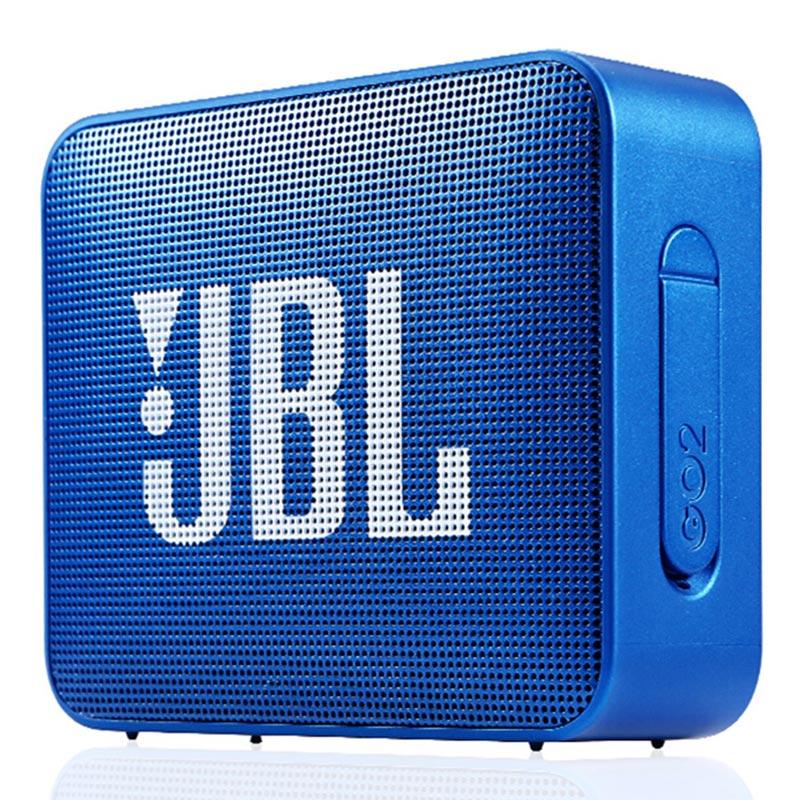JBL GO2 Wireless Bluetooth Speaker IPX7 Waterproof Outdoor Speakers Rechargeable Battery with Mic 3.5mm Audio Port