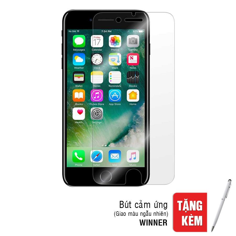 Kính Cường Lực iPhone 7 Plus / 8 Plus Remax (Trong Suốt) + Tặng Bút Cảm Ứng - Hàng Chính Hãng
