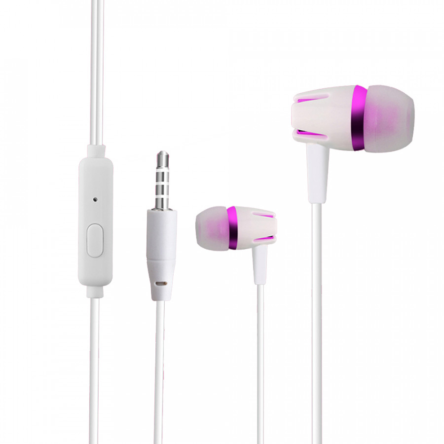 CJB C12 Wired In-line Control Earphone Sports Headset In-ear Earpieces Earbuds Headphone 3.5mm for Smartphones Tablets