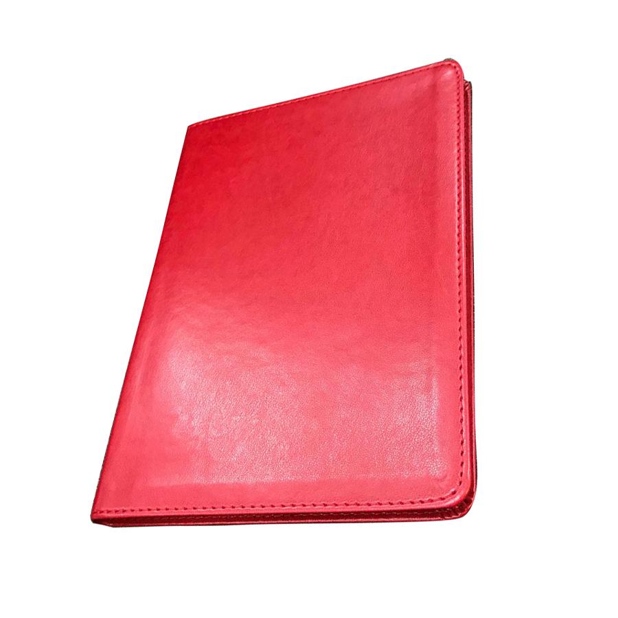 Sổ Da Oxford A46 - Đỏ (160 Trang)