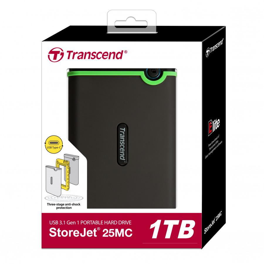 Ổ Cứng Di Động Transcend StoreJet M3C Type C 1TB USB 3.0 - Hàng Chính Hãng - 1395174 , 2853838429882 , 62_6924423 , 2350000 , O-Cung-Di-Dong-Transcend-StoreJet-M3C-Type-C-1TB-USB-3.0-Hang-Chinh-Hang-62_6924423 , tiki.vn , Ổ Cứng Di Động Transcend StoreJet M3C Type C 1TB USB 3.0 - Hàng Chính Hãng