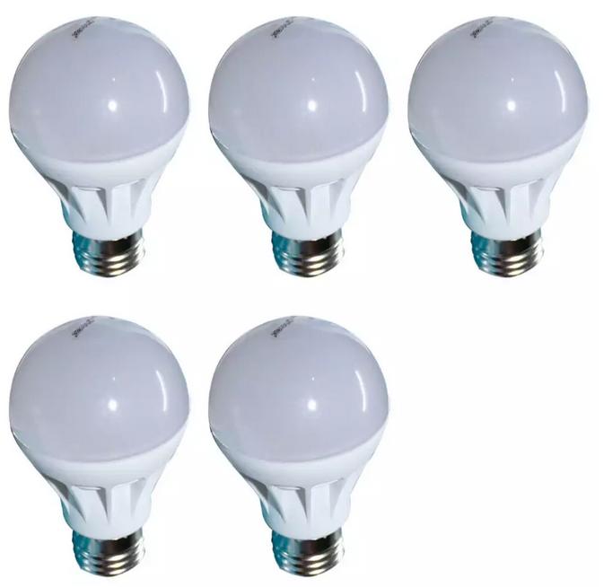 Đèn LED búp nhựa phủ matt cao cấp bộ 5 cái Gnesco 5W (sáng trắng) - 914605 , 8421263501820 , 62_1744771 , 120000 , Den-LED-bup-nhua-phu-matt-cao-cap-bo-5-cai-Gnesco-5W-sang-trang-62_1744771 , tiki.vn , Đèn LED búp nhựa phủ matt cao cấp bộ 5 cái Gnesco 5W (sáng trắng)