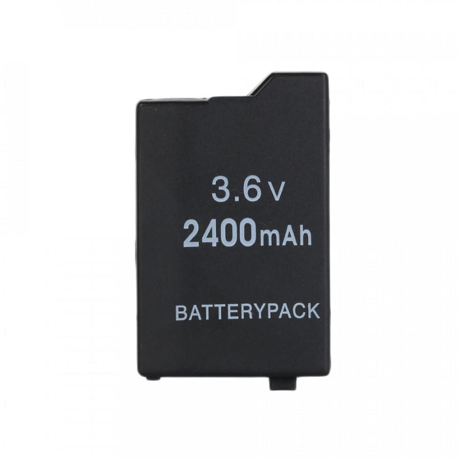 2400mha Battery Pack Premium 3.6V Black Game Console Power for PSP2000/3000