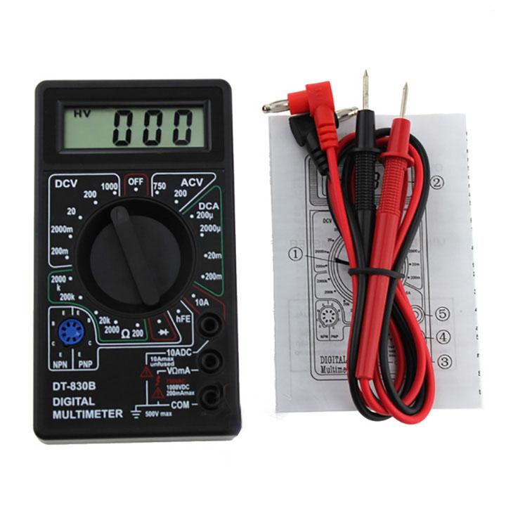 Đồng hồ đo điện vạn năng mini DT830B - 1431460 , 4269907226210 , 62_7461447 , 280000 , Dong-ho-do-dien-van-nang-mini-DT830B-62_7461447 , tiki.vn , Đồng hồ đo điện vạn năng mini DT830B