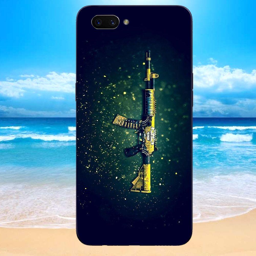 Ốp lưng điện thoại Oppo Realme C1 - pubg mobile di động MS PUBG061-Hàng Chính Hãng Cao Cấp