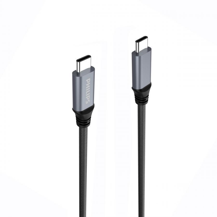 Cáp sạc USB-C to USB-C siêu bền Philips DLC4530CB - 1079005 , 8953342852511 , 62_6588061 , 513000 , Cap-sac-USB-C-to-USB-C-sieu-ben-Philips-DLC4530CB-62_6588061 , tiki.vn , Cáp sạc USB-C to USB-C siêu bền Philips DLC4530CB