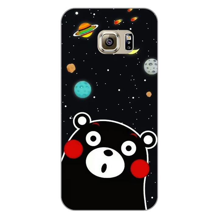 Ốp lưng dẻo Nettacase cho điện thoại Samsung Galaxy S7 Edge _0345 BEAR03 - Hàng Chính Hãng