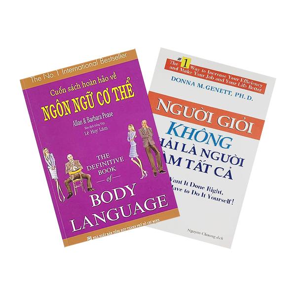 Combo Cuốn Sách Hoàn Hảo Về Ngôn Ngữ Cơ Thể - Body Language + Người Giỏi Không Phải Là Người Làm Tất Cả (2 cuốn)