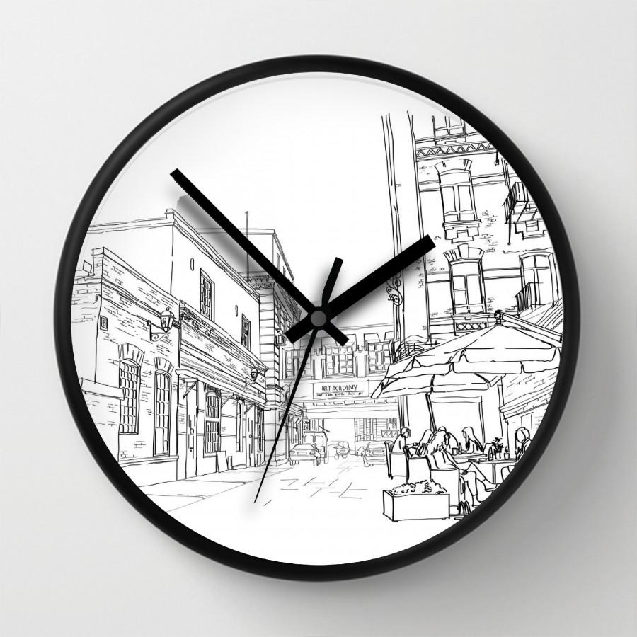 Đồng hồ treo tường hiện đại DH1810.136