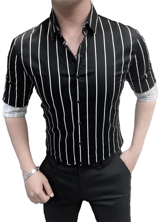 Áo Sơ Mi Nam Kẻ Sọc Cực Đẹp Cực Thời Trang - TC0194