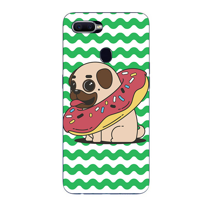 Ốp Lưng Dẻo Cho Điện thoại Oppo F9 - Kute Dog 04