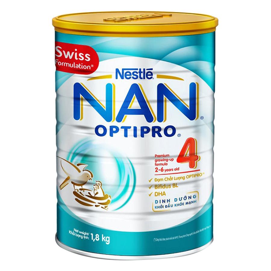 Sữa Bột Nestle NAN Optipro 4 (1.8kg) - 1391354 , 4593478378529 , 62_6880563 , 689000 , Sua-Bot-Nestle-NAN-Optipro-4-1.8kg-62_6880563 , tiki.vn , Sữa Bột Nestle NAN Optipro 4 (1.8kg)