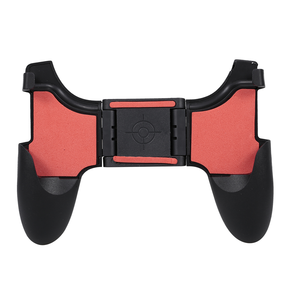 Folding Mobile Game Controller Gaming Grip Handle Gamepad for PUBG 4.5-6.5inches Phones Black