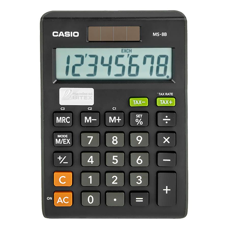 Máy Tính Để Bàn Casio MS-8B - 1288394 , 9196352212978 , 62_13379414 , 196000 , May-Tinh-De-Ban-Casio-MS-8B-62_13379414 , tiki.vn , Máy Tính Để Bàn Casio MS-8B