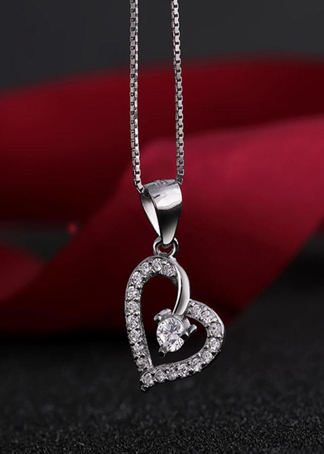Mặt dây chuyền bạc The Heart - 1429893 , 5980787733832 , 62_7440763 , 251000 , Mat-day-chuyen-bac-The-Heart-62_7440763 , tiki.vn , Mặt dây chuyền bạc The Heart