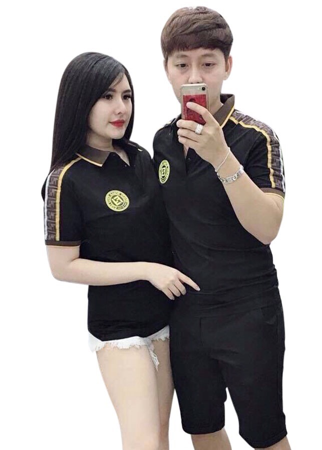 áo thun nam đôi đen kẻ vai logo tròn vàng - 2332546 , 6367078705447 , 62_15129614 , 189000 , ao-thun-nam-doi-den-ke-vai-logo-tron-vang-62_15129614 , tiki.vn , áo thun nam đôi đen kẻ vai logo tròn vàng