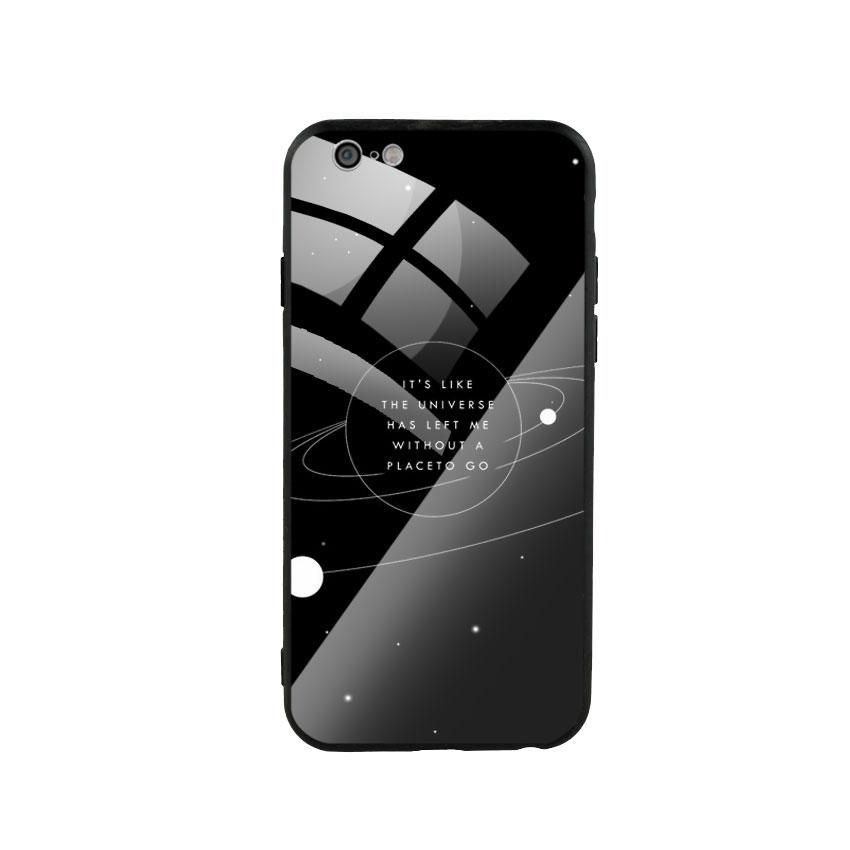 Ốp Lưng Kính Cường Lực cho điện thoại Iphone 6 / 6s - Alone 02