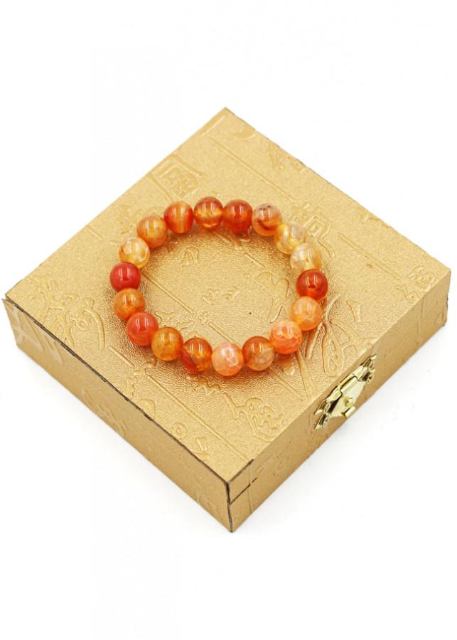 Vòng đeo tay chuỗi hạt đá vân rồng cam - Sản phẩm phong thủy phù hợp cho nữ - 2207867 , 5638954803245 , 62_14165864 , 320000 , Vong-deo-tay-chuoi-hat-da-van-rong-cam-San-pham-phong-thuy-phu-hop-cho-nu-62_14165864 , tiki.vn , Vòng đeo tay chuỗi hạt đá vân rồng cam - Sản phẩm phong thủy phù hợp cho nữ