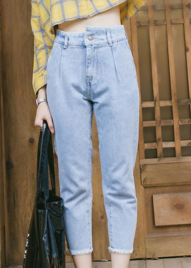 Quần Baggy Jeans Nữ Phối Nơ Rời Envy - 800559 , 5361416910518 , 62_9952665 , 239000 , Quan-Baggy-Jeans-Nu-Phoi-No-Roi-Envy-62_9952665 , tiki.vn , Quần Baggy Jeans Nữ Phối Nơ Rời Envy