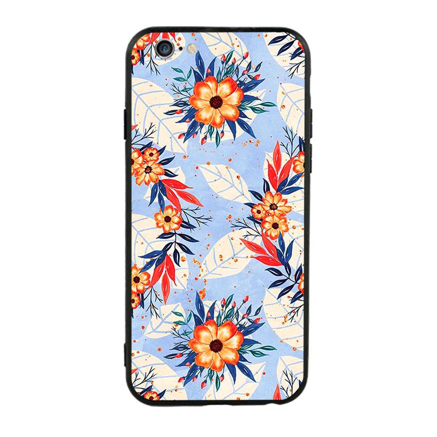 Ốp lưng viền TPU cho điện thoại Iphone 6 Plus/6s Plus - Flower 16