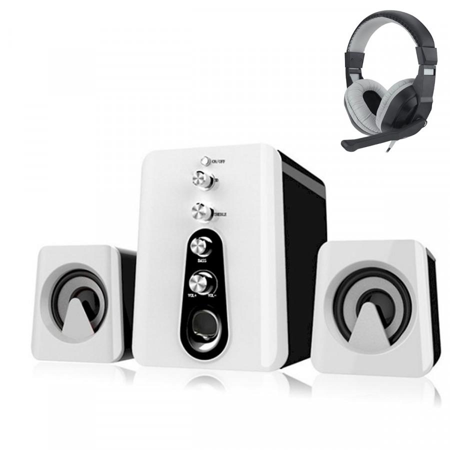 Combo Bộ 3 Loa Máy Tính 2.1 Âm Thanh 3D HC-807 + Tai nghe chụp tai kèm mic đàm thoại CT-770 (Màu Ngẫu Nhiên) - 1605242 , 1812187568780 , 62_10785737 , 700000 , Combo-Bo-3-Loa-May-Tinh-2.1-Am-Thanh-3D-HC-807-Tai-nghe-chup-tai-kem-mic-dam-thoai-CT-770-Mau-Ngau-Nhien-62_10785737 , tiki.vn , Combo Bộ 3 Loa Máy Tính 2.1 Âm Thanh 3D HC-807 + Tai nghe chụp tai kèm mic đà