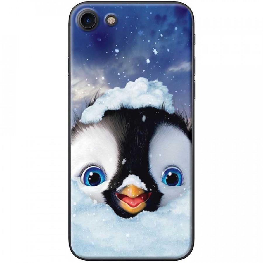 Ốp lưng dành cho iPhone 7 mẫu Cánh cụt tuyết