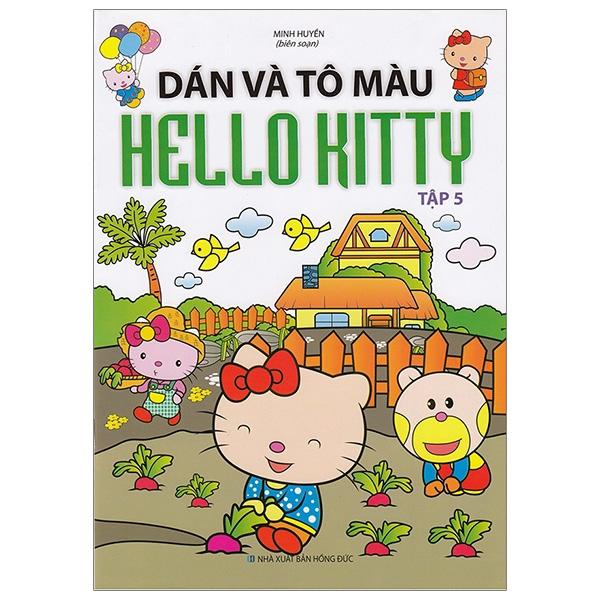 Dán Và Tô Màu Hello Kitty - Tập 5